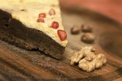 Homemade chocolate cake Royalty Free Stock Image