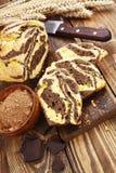 Homemade chocolate cake Zebra Stock Image
