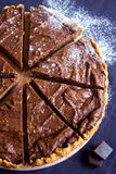 Homemade chocolate cheesecake Royalty Free Stock Photography