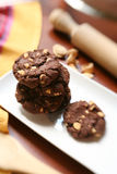 Homemade chocolate cookies Royalty Free Stock Images