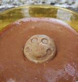 Homemade chocolate cream Stock Image