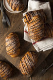 Homemade Chocolate Croissant Pastry Royalty Free Stock Photos
