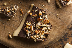 Homemade Chocolate English Toffee Stock Images