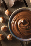 Homemade Chocolate Hazelnut Spread Royalty Free Stock Images