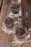 Homemade Chocolate Liqueur Royalty Free Stock Photography