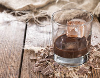 Homemade Chocolate Liqueur Royalty Free Stock Image