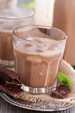 Homemade chocolate liquor Royalty Free Stock Photography
