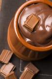 Homemade Chocolate Pudding Royalty Free Stock Photo