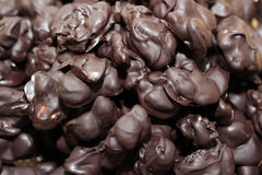 Homemade chocolate snack Stock Images