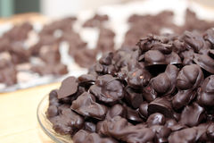 Homemade chocolate snack Stock Image