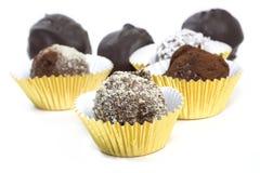 Homemade Chocolate Truffles Royalty Free Stock Image
