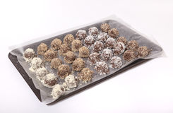 Homemade Chocolate Truffles Royalty Free Stock Photo
