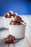 Homemade chocolates Stock Image