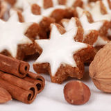 Homemade Christmas Cookies Royalty Free Stock Photography