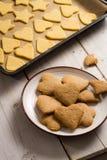 Homemade Christmas cookies Stock Photography
