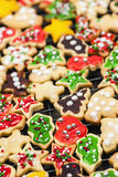 Homemade Christmas cookies Stock Photo