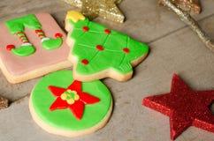 Homemade Christmas cookies. Royalty Free Stock Photos