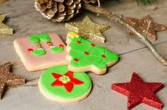 Homemade Christmas cookies. Royalty Free Stock Photo