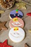 Homemade Christmas cookies. Stock Photo