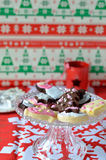 Homemade Christmas Cookies Stock Photos