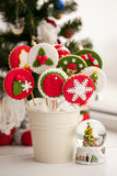 Homemade christmas cookies - gingerbread Royalty Free Stock Images