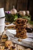 Homemade Christmas cookies Royalty Free Stock Photos