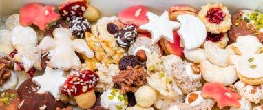 Homemade Christmas Cookies Stock Photo