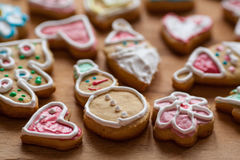 Homemade Christmas cookies Royalty Free Stock Photo