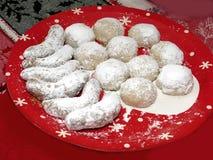 Homemade Christmas Cookies Royalty Free Stock Image