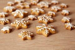 Homemade christmas cookies Stock Image