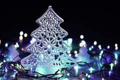 Homemade Christmas decorations Royalty Free Stock Photos