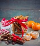 Homemade Christmas ginger cookies Stock Photo