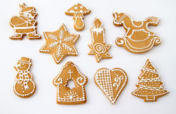 Homemade Christmas Ginger Royalty Free Stock Image
