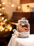 Homemade christmas gingerbreads Stock Image