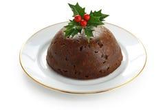 Homemade Christmas Pudding Stock Image