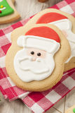 Homemade Christmas Sugar Cookies Royalty Free Stock Image