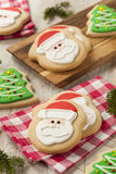 Homemade Christmas Sugar Cookies Royalty Free Stock Photography