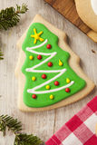 Homemade Christmas Sugar Cookies Stock Photo