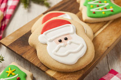Homemade Christmas Sugar Cookies Royalty Free Stock Photo