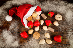 Homemade Christmas sweets Royalty Free Stock Photos