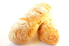 Homemade ciabatta Stock Images