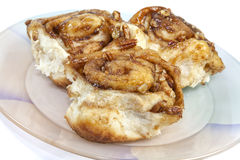 Homemade Cinnamon Buns Royalty Free Stock Image