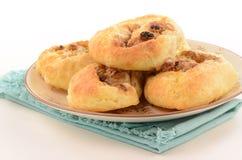 Homemade cinnamon buns. Home made cinnamon buns fresh from the oven Stock Photo