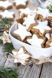 Homemade Cinnamon Cookies Stock Images