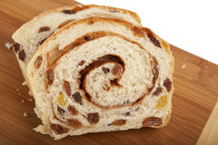 Homemade Cinnamon Raisin Bread Royalty Free Stock Images
