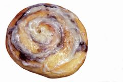 Homemade Cinnamon Roll Royalty Free Stock Photo