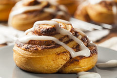 Homemade Cinnamon Roll Pastry Royalty Free Stock Photo
