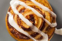Homemade Cinnamon Roll Pastry Stock Photo
