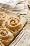 Homemade Cinnamon Roll Sticky Buns Stock Image