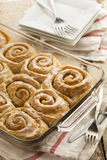 Homemade Cinnamon Roll Sticky Buns Royalty Free Stock Photography
